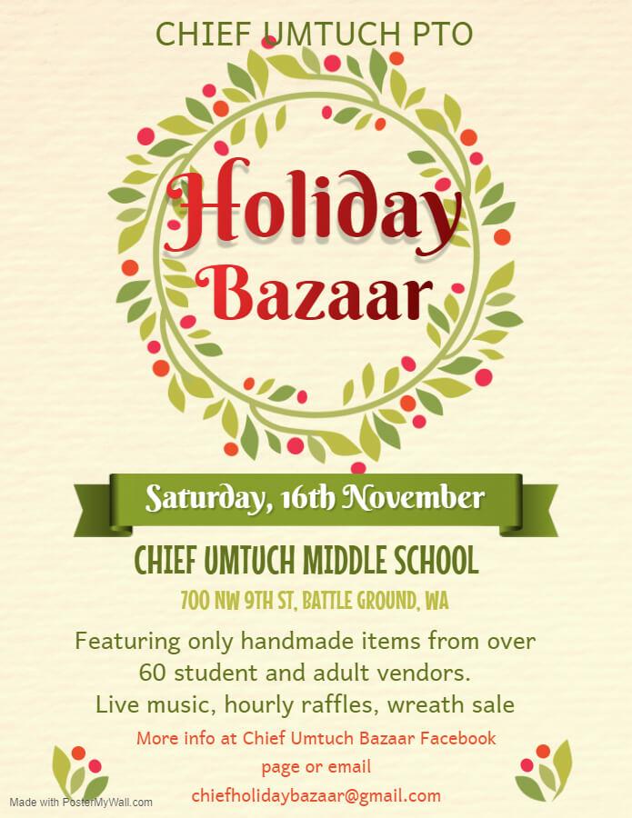 Flyer for Bazaar