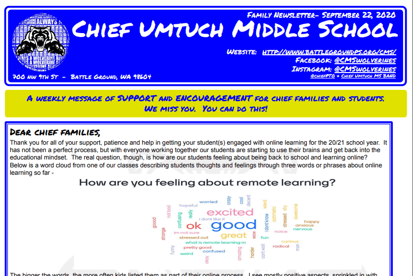 Chief Newsletter Feature